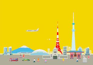東京のイラスト素材 [FYI03061035]