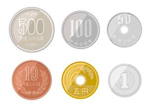 コインのイラスト素材 [FYI03061043]
