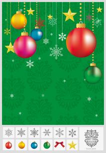 クリスマス: オーナメント(球)のイラスト素材 [FYI03061045]
