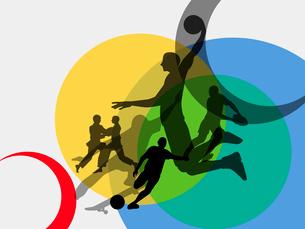 オリンピックスポーツのイラスト素材 [FYI03061190]