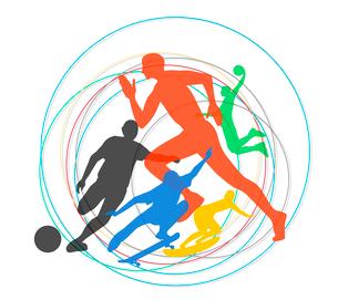 オリンピックスポーツのイラスト素材 [FYI03061192]