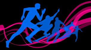 オリンピックスポーツのイラスト素材 [FYI03061205]