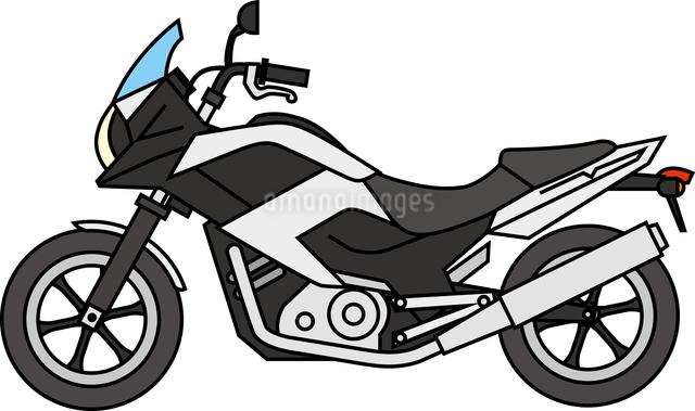 中型バイクのイラスト素材 [FYI03063444]