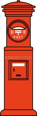 郵便ポストのイラスト素材 [FYI03063530]