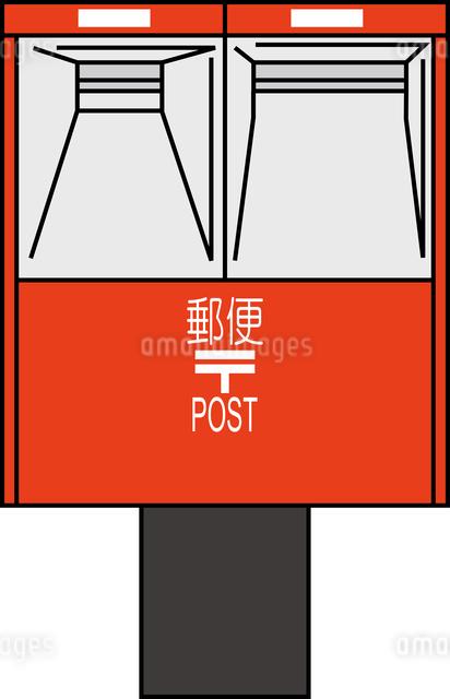 郵便ポストのイラスト素材 [FYI03063531]