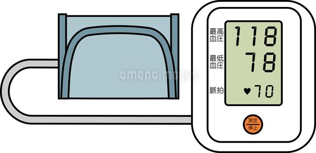 血圧計のイラスト素材 [FYI03063561]