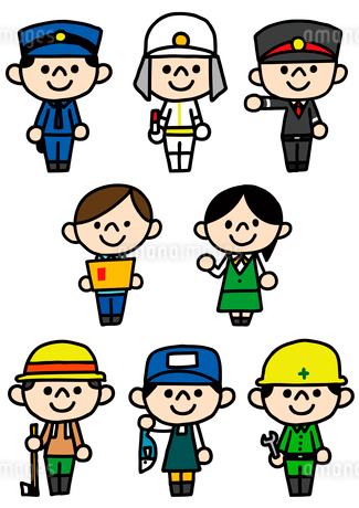 人物アイコン・職業のイラスト素材 [FYI03063720]