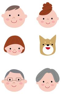 family_faceのイラスト素材 [FYI03063725]
