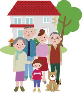 home_familyのイラスト素材 [FYI03063744]