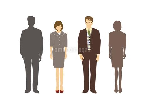男性と女性のイラスト素材 [FYI03063888]