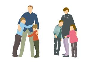 家族のイラスト素材 [FYI03063899]