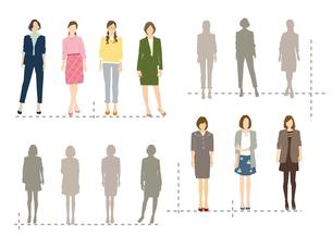 働く女性のイラスト素材 [FYI03063916]