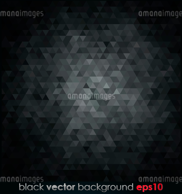 Vector illustration black texture Geometrical backgroundのイラスト素材 [FYI03063971]