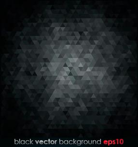 Vector illustration black texture Geometrical backgroundのイラスト素材 [FYI03063971]