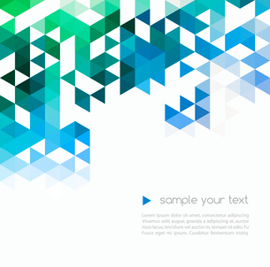 Abstract technology background in color. Vector illustration.のイラスト素材 [FYI03064017]