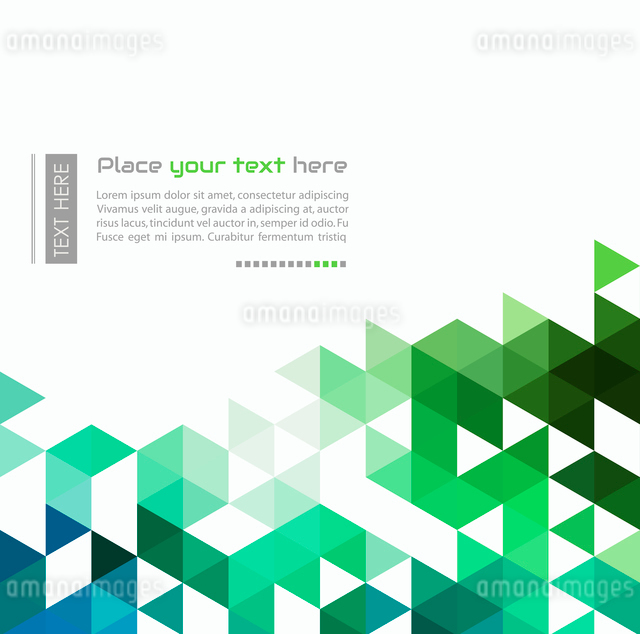 Abstract technology background with color triangle shapes. Vector illustration.のイラスト素材 [FYI03064019]