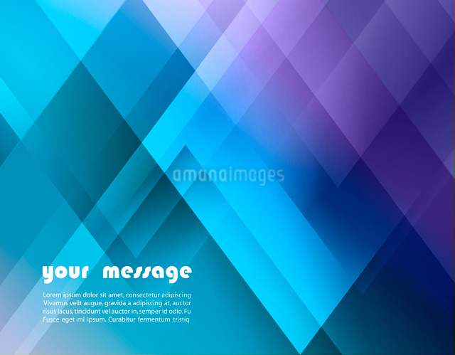 Abstract triangle vector background for Your Textのイラスト素材 [FYI03064095]
