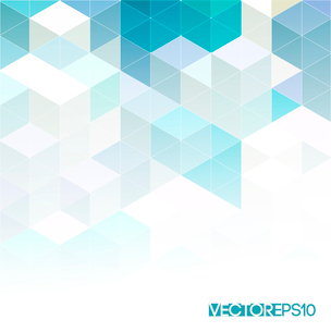 Abstract colorful  geometric background. Vector illustration EPS 10のイラスト素材 [FYI03064184]