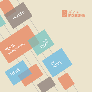 Place for your text here. Template of design. Vector illustration.のイラスト素材 [FYI03064394]