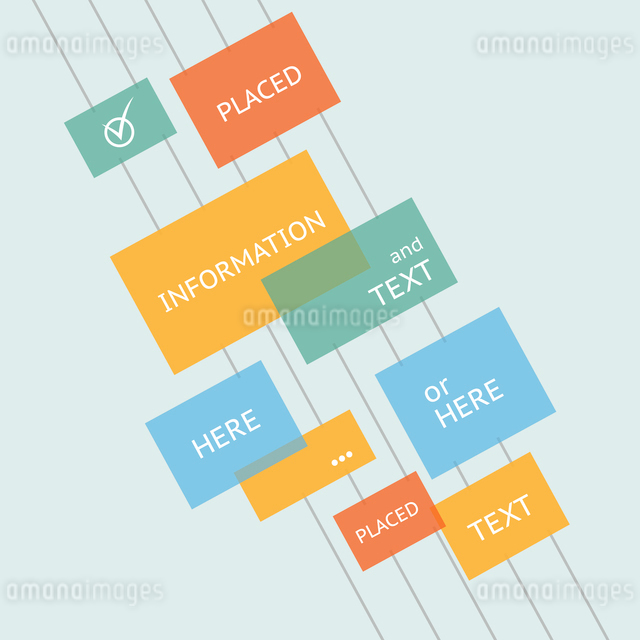 Place for your text here. Template of design. Vector illustration.のイラスト素材 [FYI03064397]