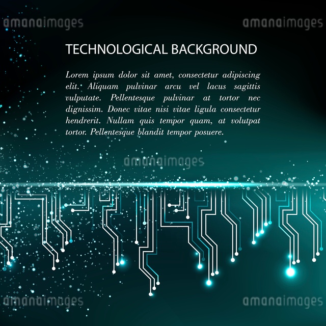 Digital backgroundのイラスト素材 [FYI03064406]