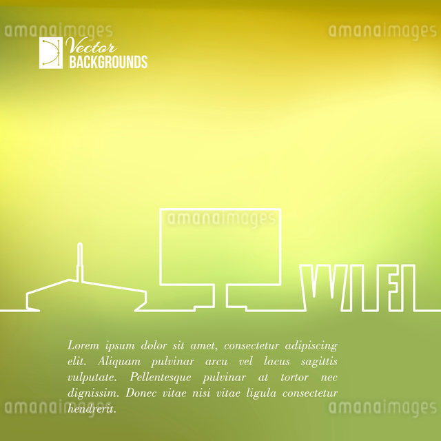 Line art design of wifi and computer elements. Vector illustration.のイラスト素材 [FYI03064493]