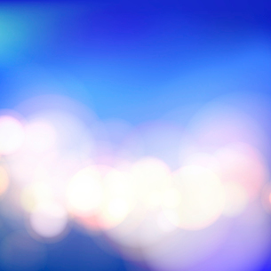 Bokeh and lens flare on blue background. Vector illustration.のイラスト素材 [FYI03064689]