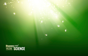Science color background with sparks and glow.のイラスト素材 [FYI03064694]