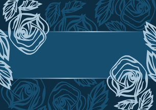 Floral banner, vector illustrationのイラスト素材 [FYI03064830]
