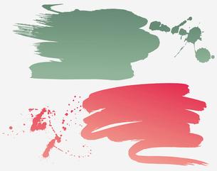 Vector grunge brushesのイラスト素材 [FYI03064937]