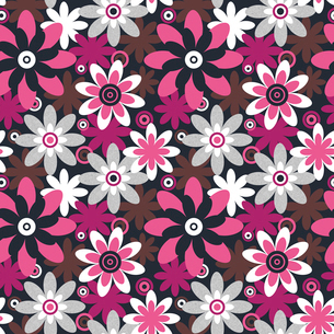 Floral seamless pattern. Seamless pattern can be used for wallpaper, pattern fills, web page backgroのイラスト素材 [FYI03065256]