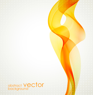 Abstract colorful vector template waved background. EPS10のイラスト素材 [FYI03065444]
