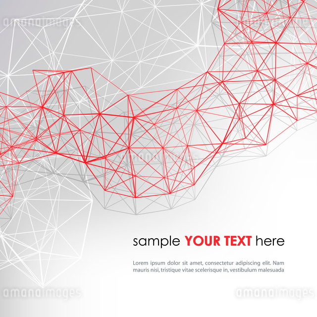 Abstract technology background in color. Vector illustration.のイラスト素材 [FYI03065501]