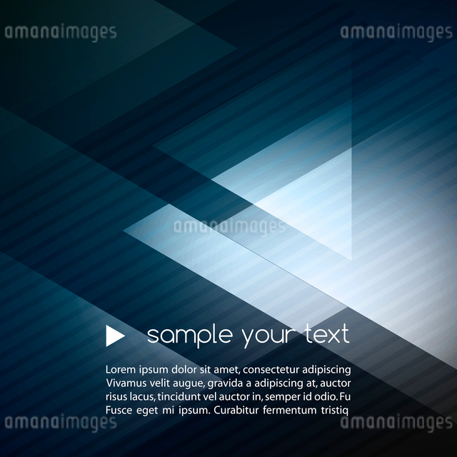 Elegant Geometric Blue Background - Vector Illustration For Business Brochureのイラスト素材 [FYI03065515]