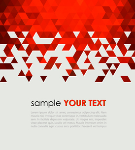 Abstract technology background  with triangle. Vector illustration.のイラスト素材 [FYI03065534]