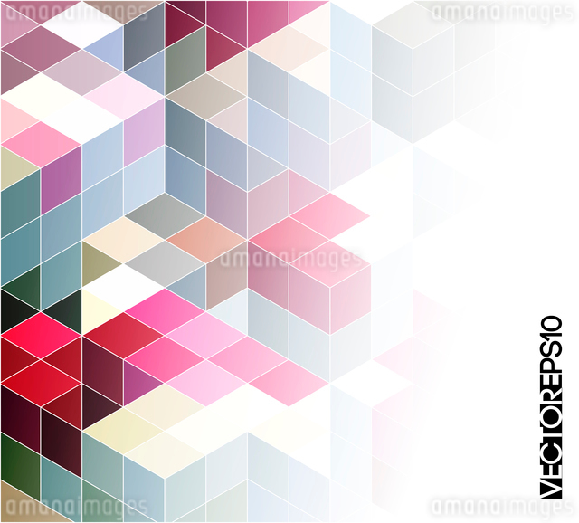 Abstract colorful  geometric background. Vector illustration EPS 10のイラスト素材 [FYI03065544]