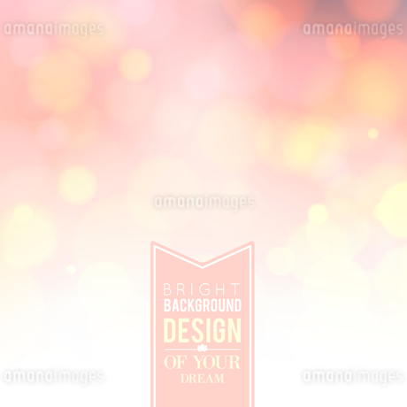 Spa lettering over pink bokeh background. Vector illustration.のイラスト素材 [FYI03065999]