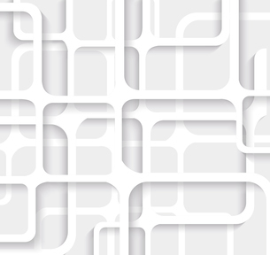 Seamless Geometric Pattern. Monochrome cellular texture. Repeating abstract backgroundのイラスト素材 [FYI03066282]