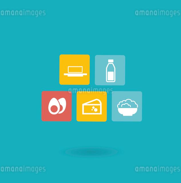 dairy icon. Flat modern style vector designのイラスト素材 [FYI03066400]