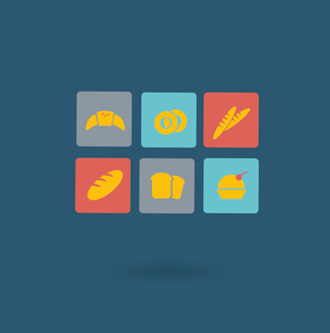 bakery icon. Flat modern style vector designのイラスト素材 [FYI03066403]