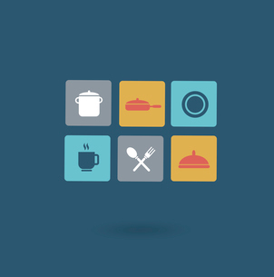 tableware icon. Flat modern style vector designのイラスト素材 [FYI03066404]