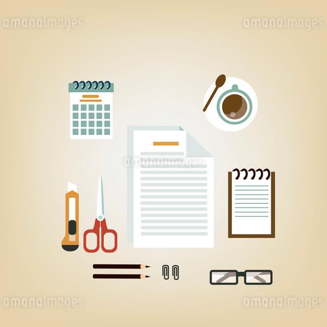 Secretary Deskのイラスト素材 [FYI03066414]