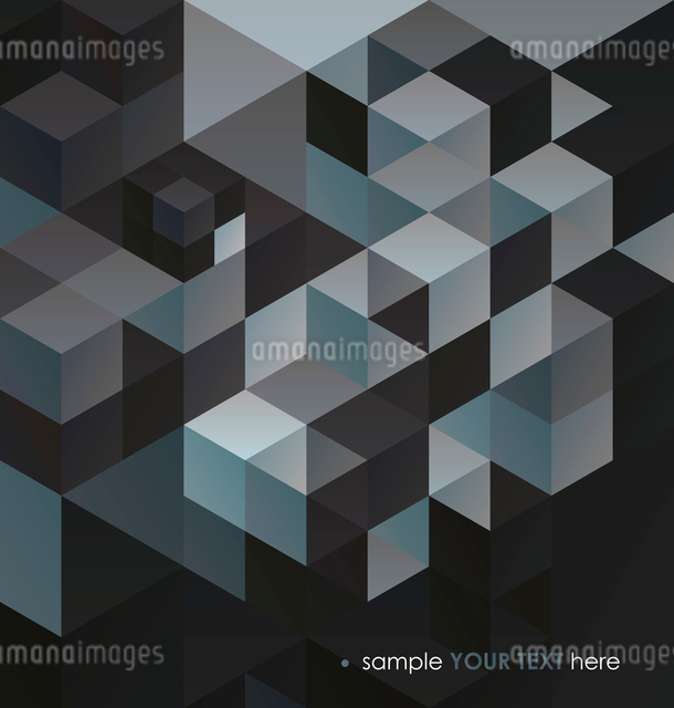 Abstract  Background / retro mosaic brochure or bannerのイラスト素材 [FYI03066566]