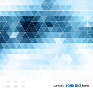 Abstract technology background in color. Vector illustration.のイラスト素材 [FYI03066572]