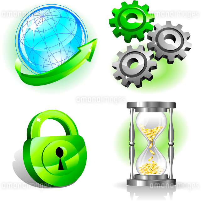 Business icons setのイラスト素材 [FYI03067871]