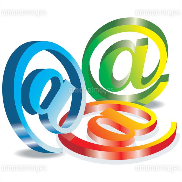 Set vector e mail iconのイラスト素材 [FYI03068031]