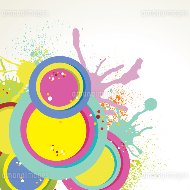 Abstract colorful background. Vector.のイラスト素材 [FYI03068262]
