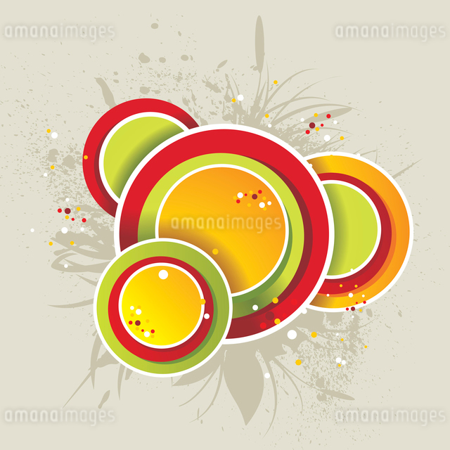 Abstract colorful background. Vector.のイラスト素材 [FYI03068266]