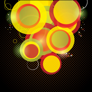Abstract colorful background. Vector.のイラスト素材 [FYI03068273]
