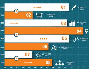 Retro infographics set.のイラスト素材 [FYI03068338]